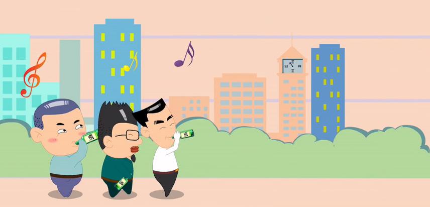一家动漫企业的创业历程(创意短片)