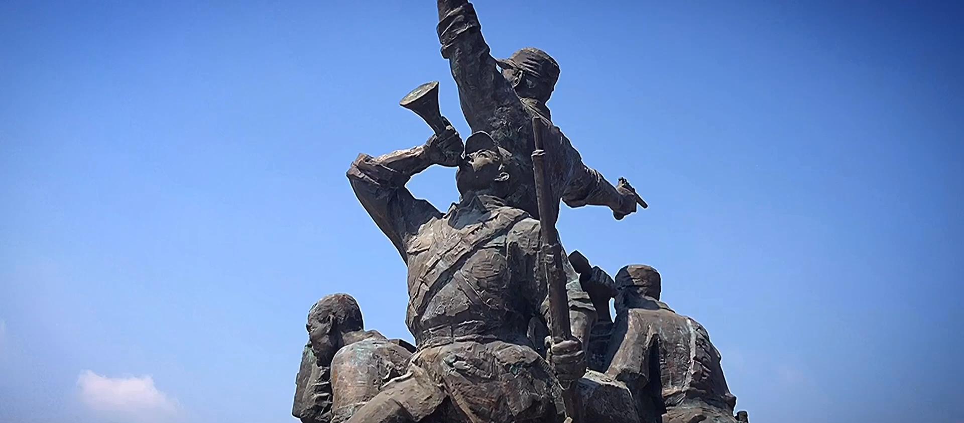 参观学习孟良崮战役纪念馆